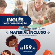 Curso Inglês Kids, Foccus