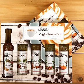 Monin coffee mini set.JPG