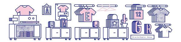 Atelier impression textile Rennes