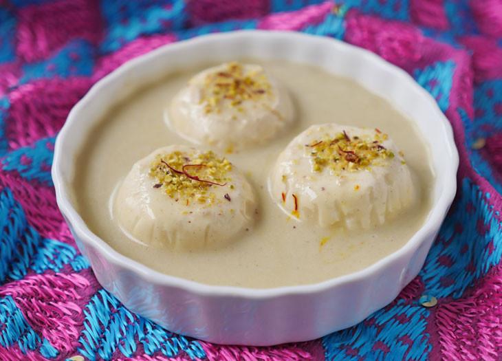 Rasamalai Dessert