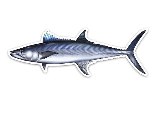 King Mackerel - Waterproof Sticker