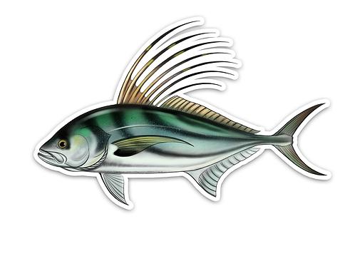 Roosterfish - Waterproof Sticker