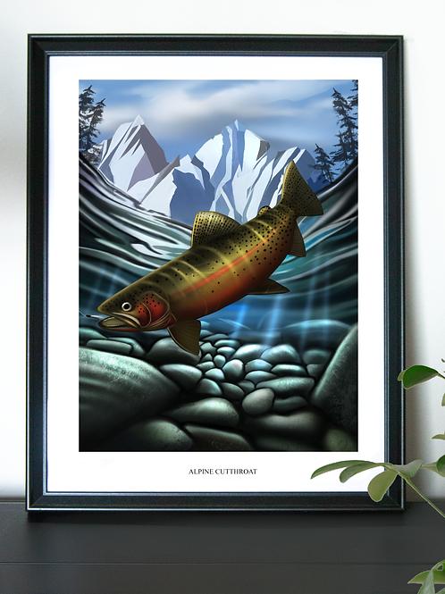 Alpine Cutthroat - Poster
