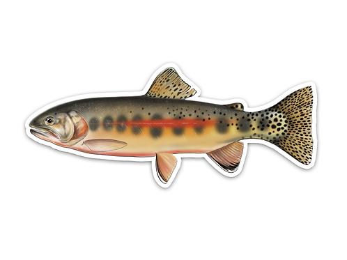 Golden Trout - Waterproof Sticker