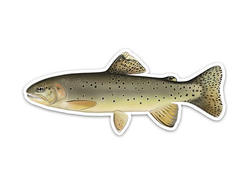 Apache Trout - Waterproof Sticker