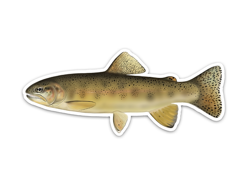 Gila Trout - Waterproof Sticker