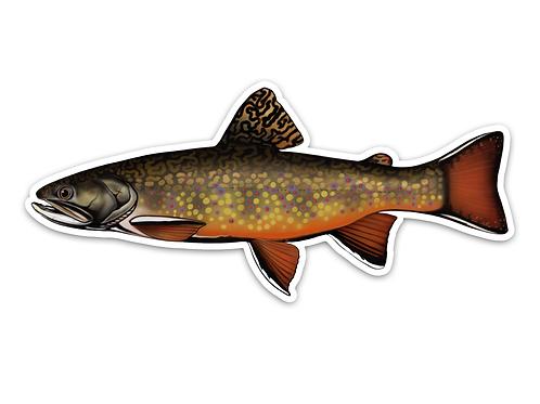 Brook Trout - Waterproof Sticker