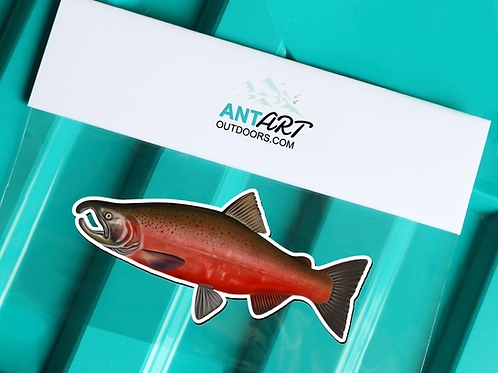 Coho Salmon - Magnet