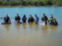 Mergulho em Rifaina