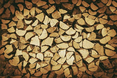 針葉樹の薪 薪の長さ:17cm