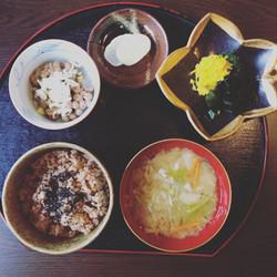 萩の江納豆定食