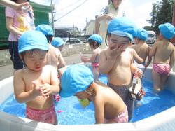 平成28年度7月 プール開き