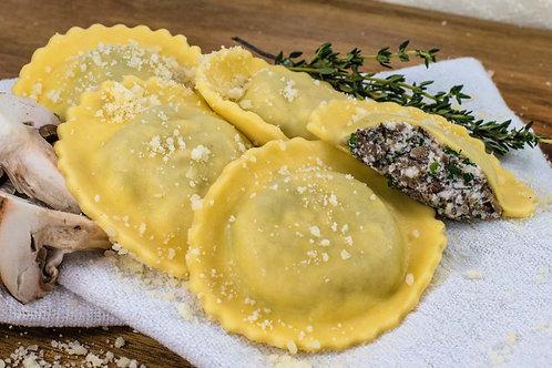 Mushroom & ricotta Ravioli