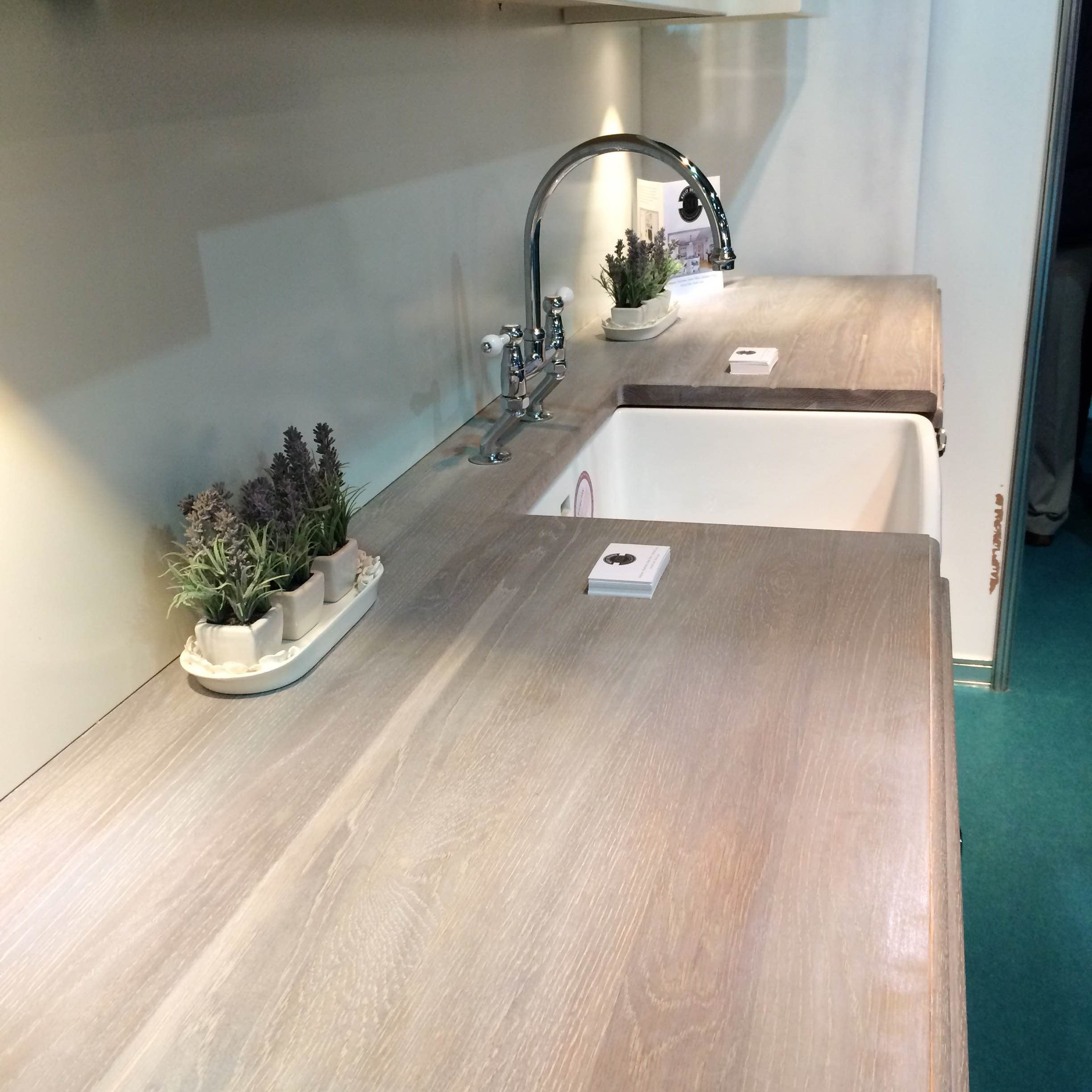 Worktop and Belfast Sink