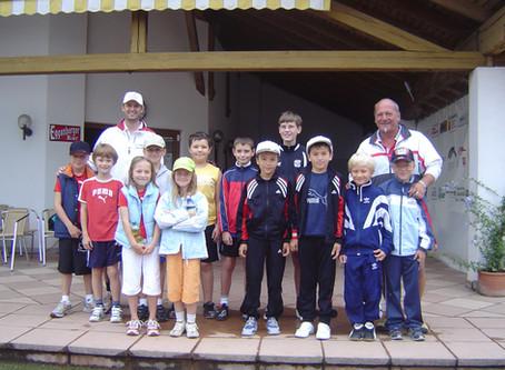 Rekordbeteiligung bei Kinder-Tenniskursen