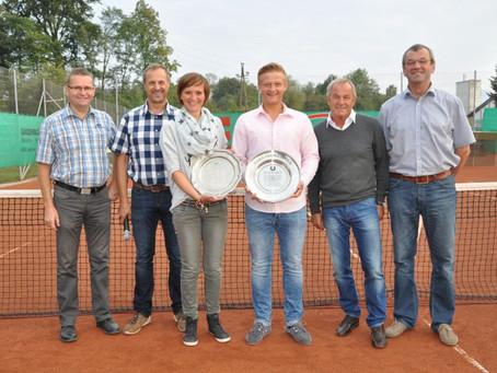 Hutterer und Eibegger abermals Vorchdorfer Tennis Vereinsmeister