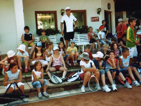 1. Tennisaktion Volksschule Vorchdorf