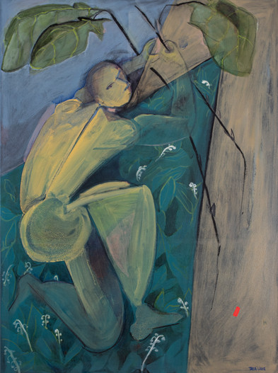 Adam,2020, oil on canvas, 36x 48
