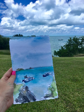 Boat in Bermuda - 2018