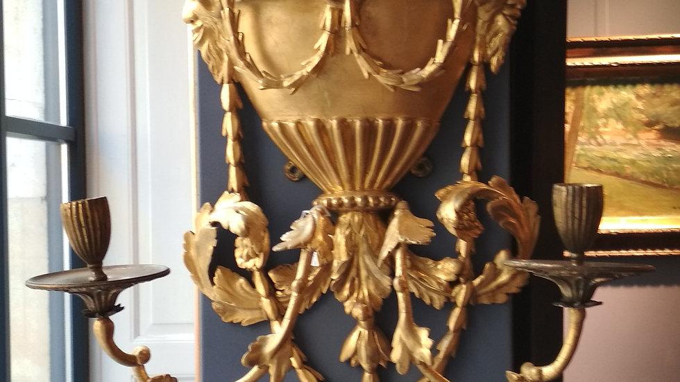 Kerzenhalter golden