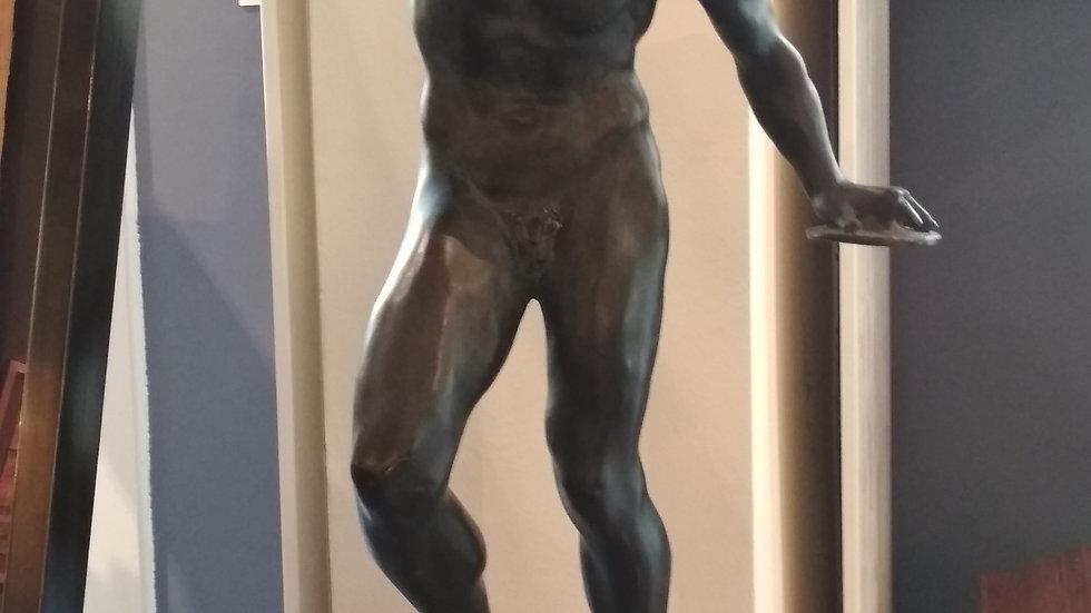 Bronze Tanzender Faun