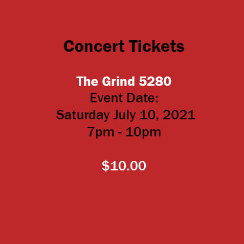Saturday Night Concert - The Grind 5280