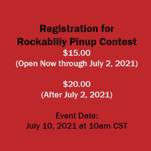 Rockabilly Pinup Contest