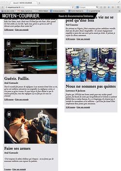 Edition Moyen-Courrier
