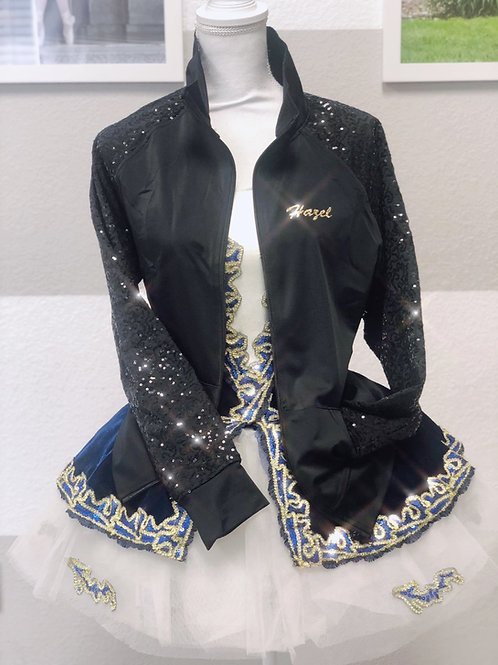En Pointe Jacket (sample sizes available at the studio)