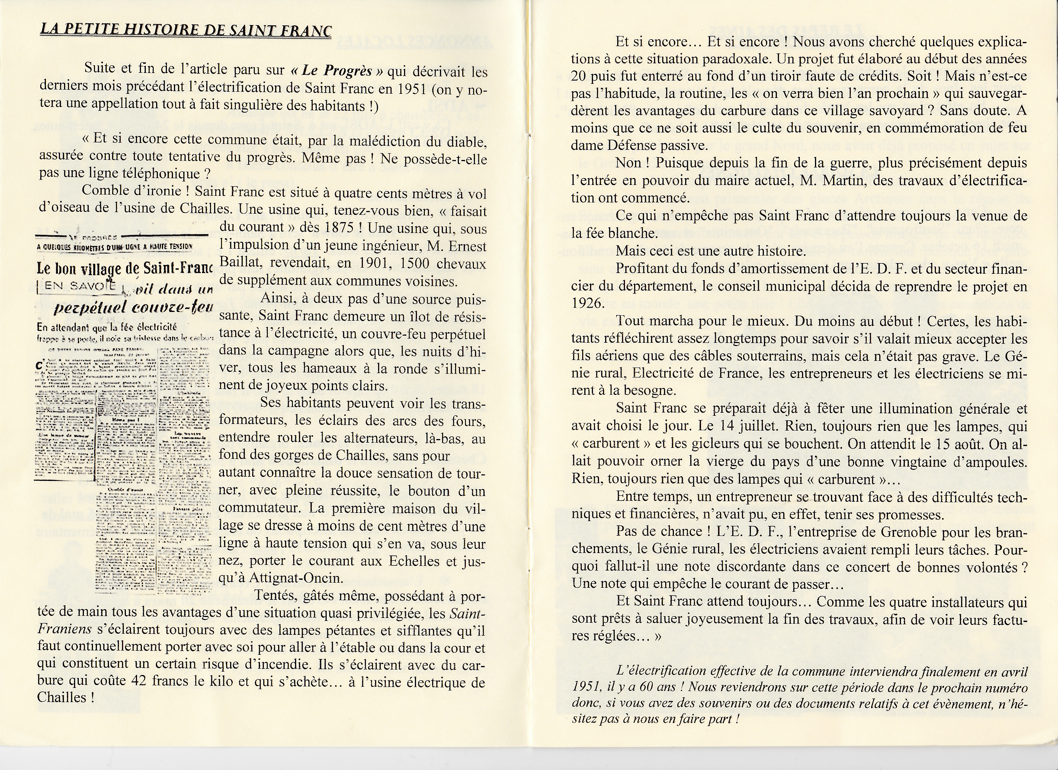 LPS n° 8 Pages 4 & 5