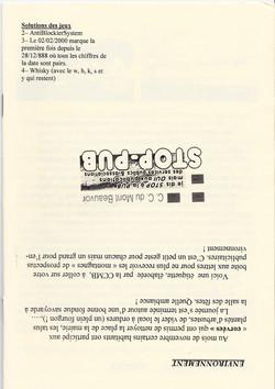 LPS n° 8 Page 16bis