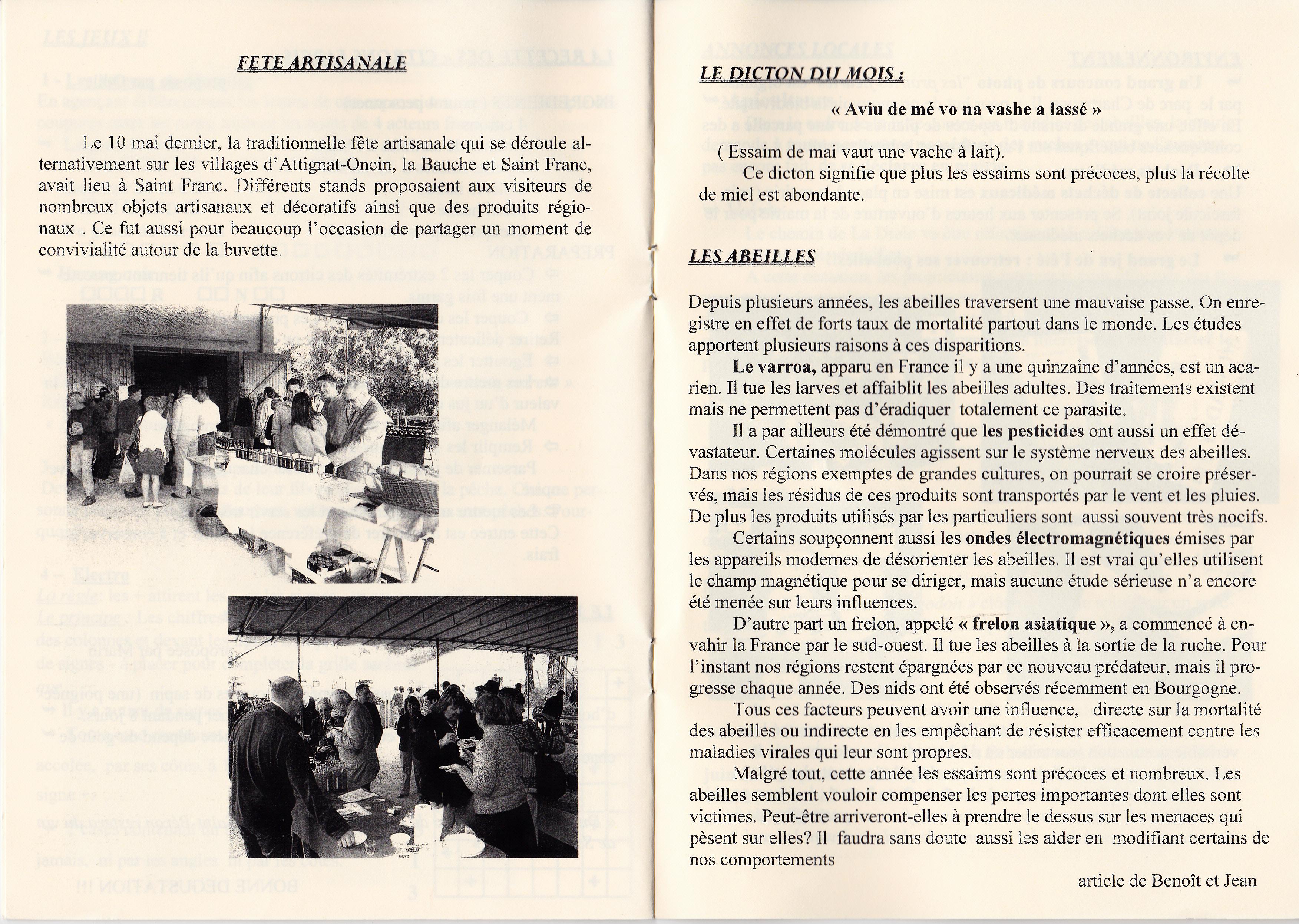 LPS n° 3 Pages 10 & 11 - juin 2009