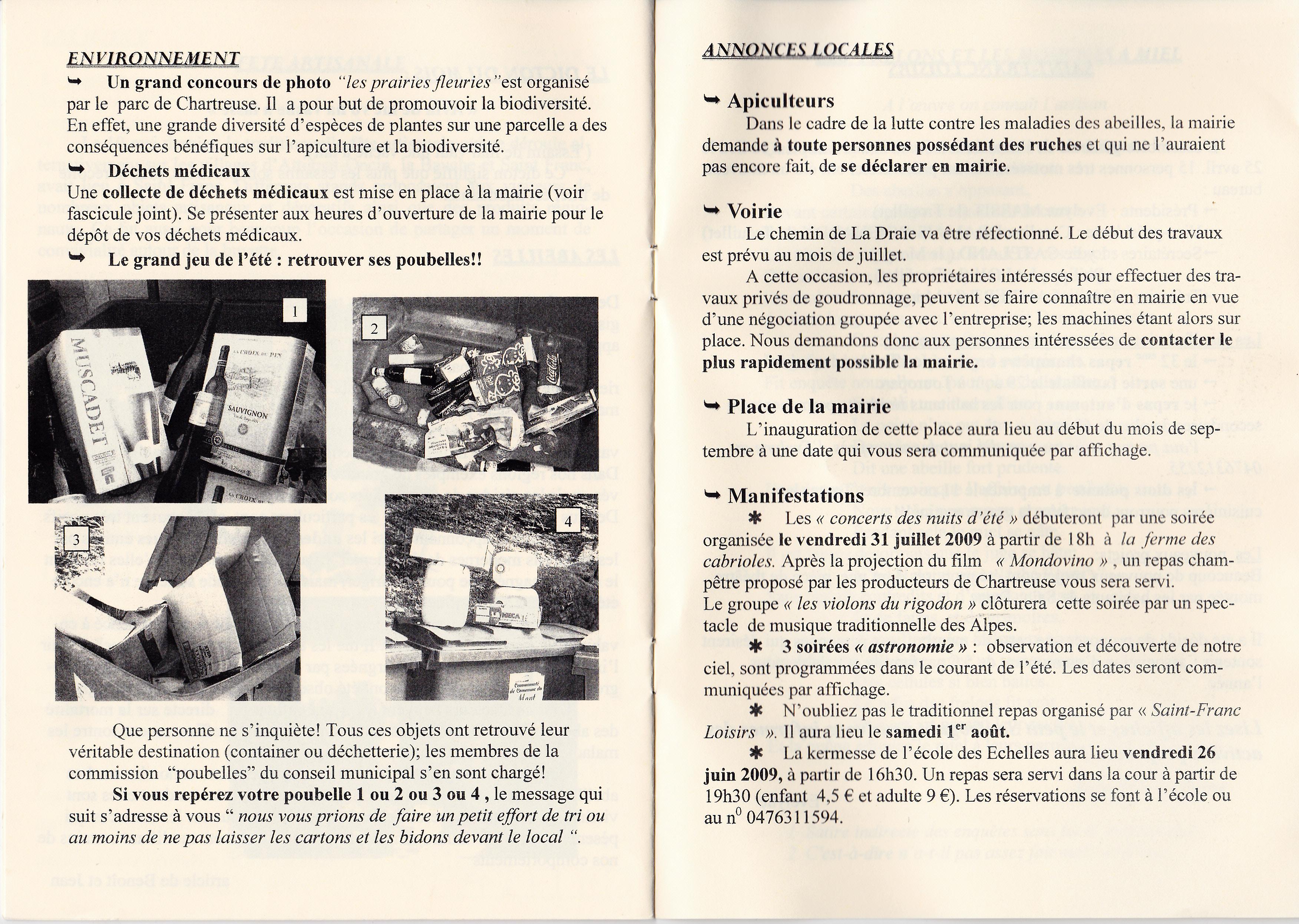 LPS n° 3 Pages 12 & 13 - juin 2009