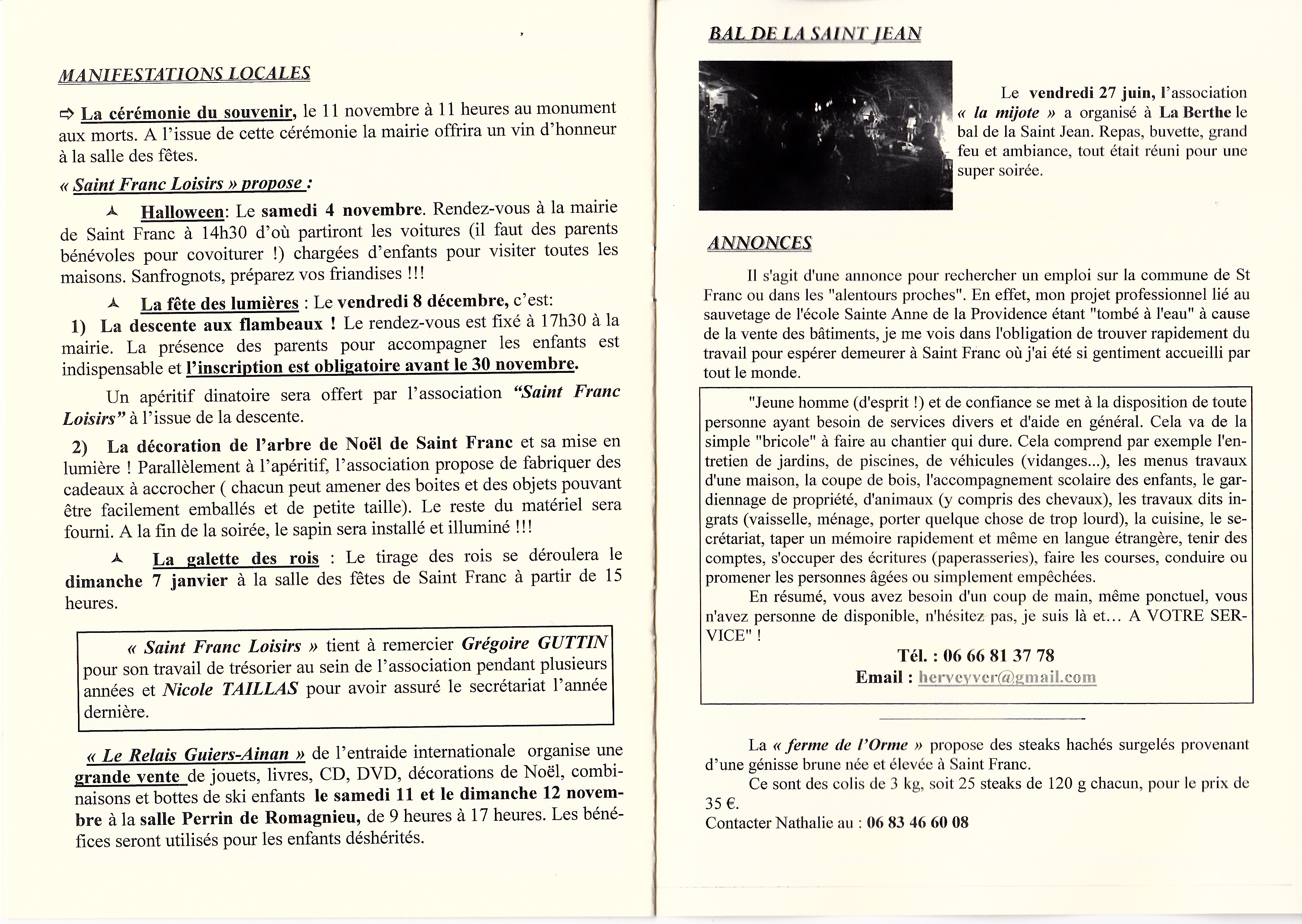 LPS n° 28 Pages 14 & 15