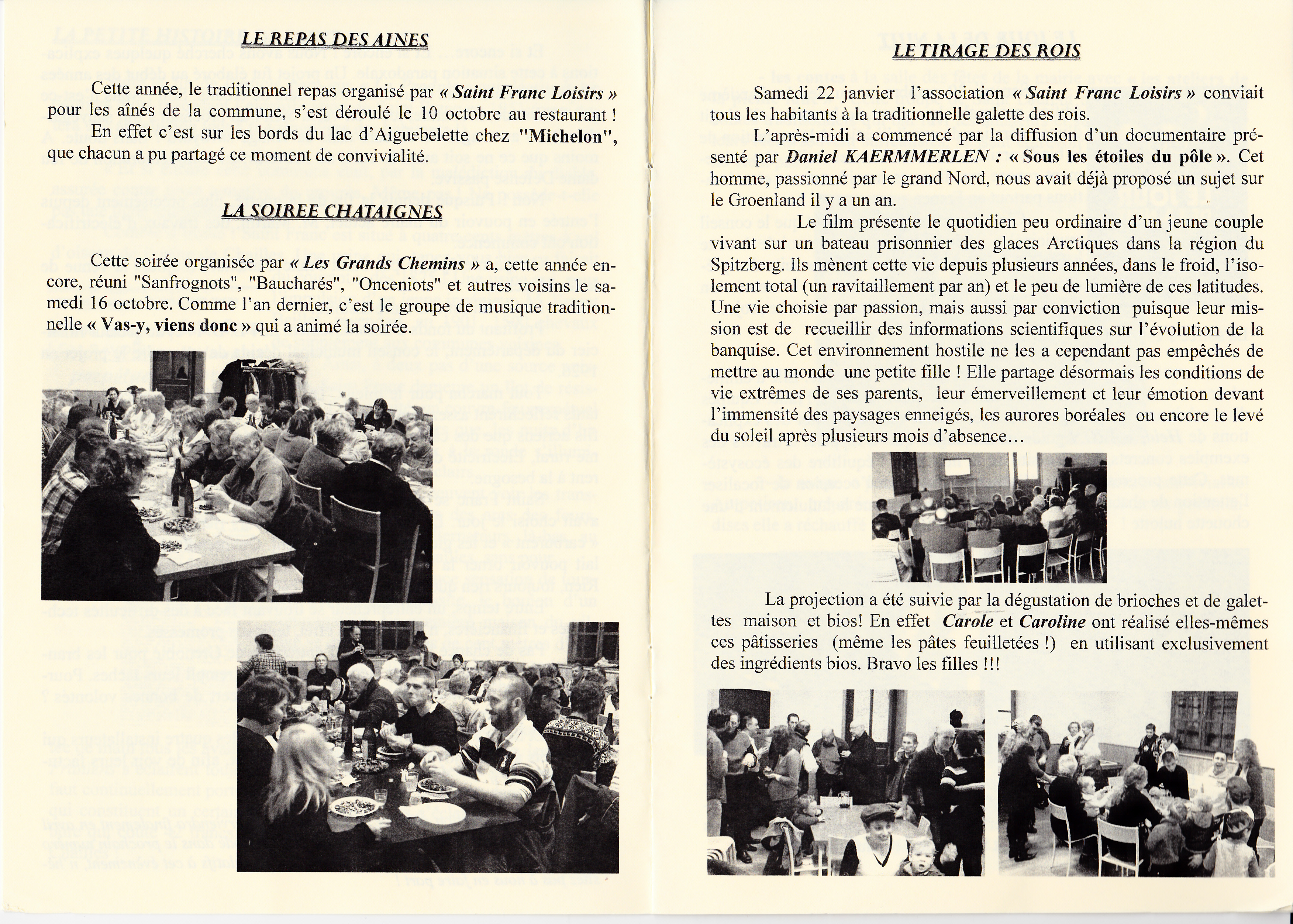 LPS n° 8 Pages 6 & 7