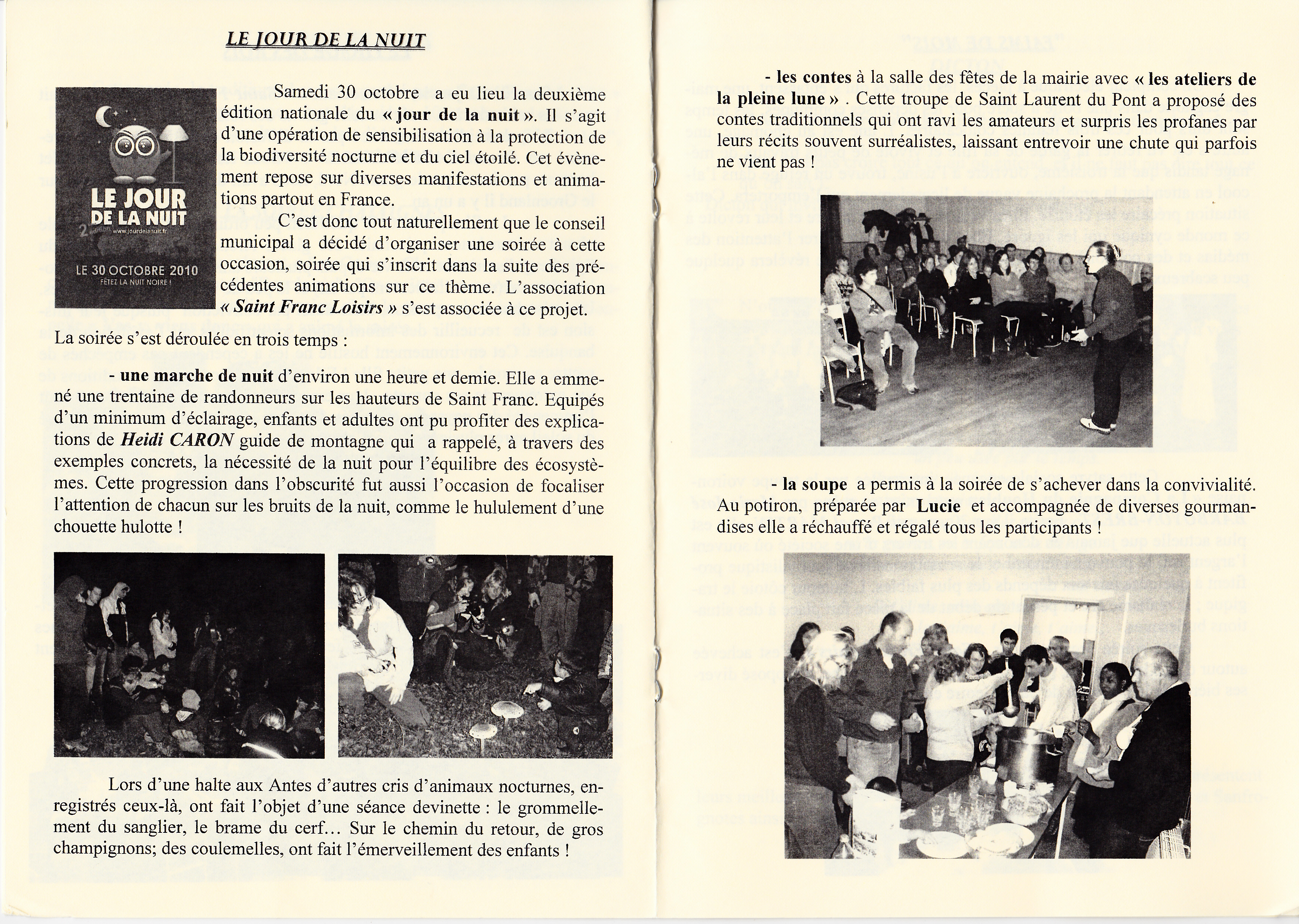 LPS n° 8 Pages 8 & 9