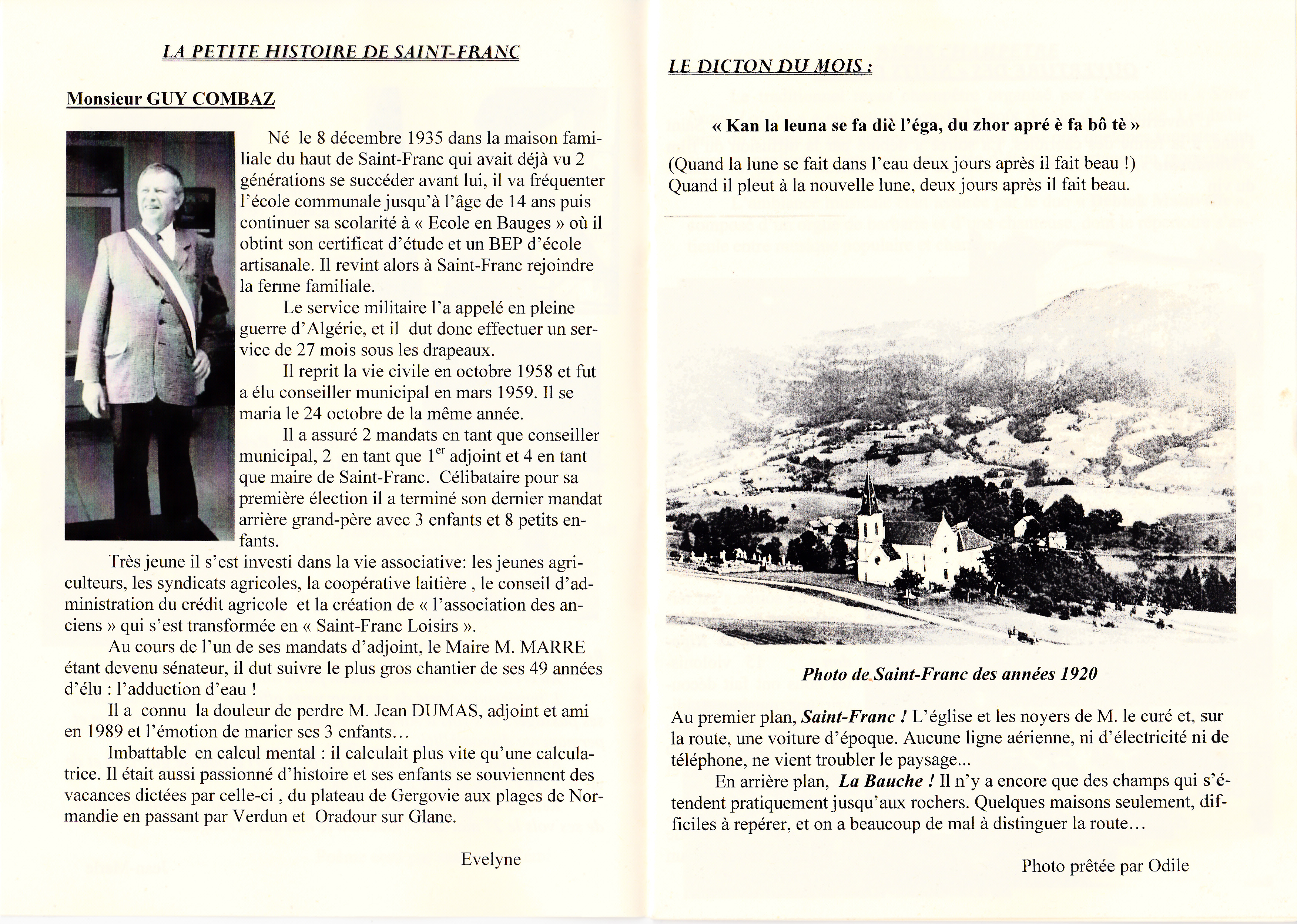 LPS n° 4 Pages 4 & 5