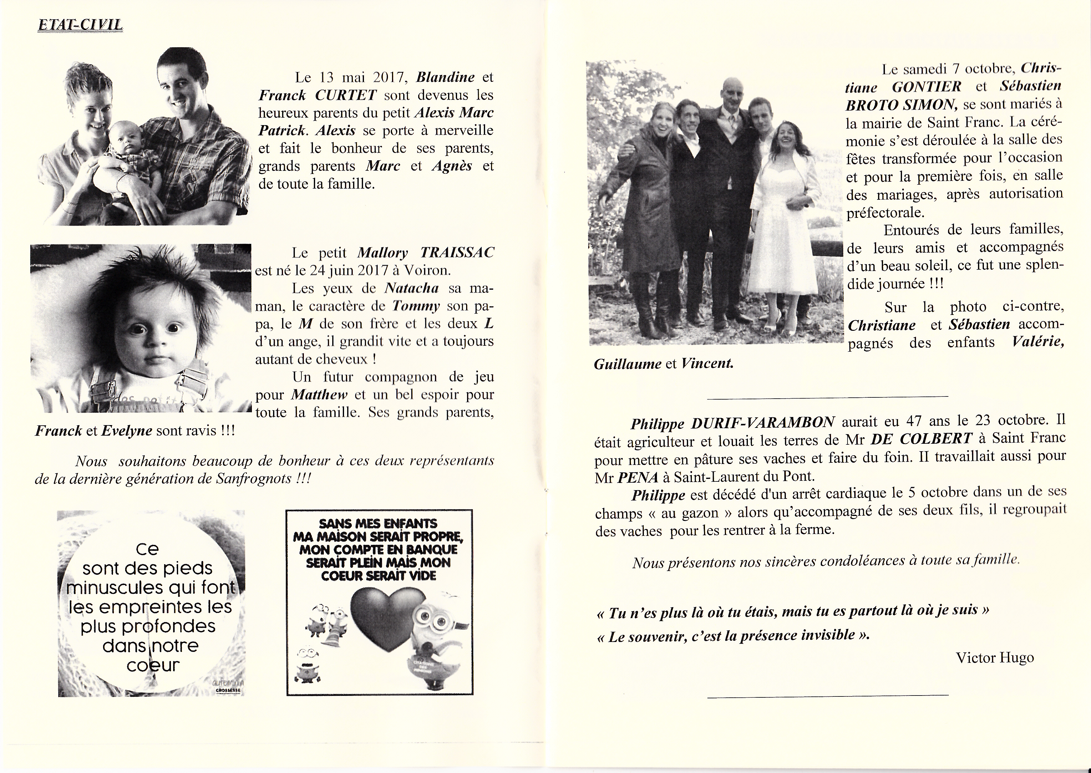 LPS n° 28 Pages 02 & 03