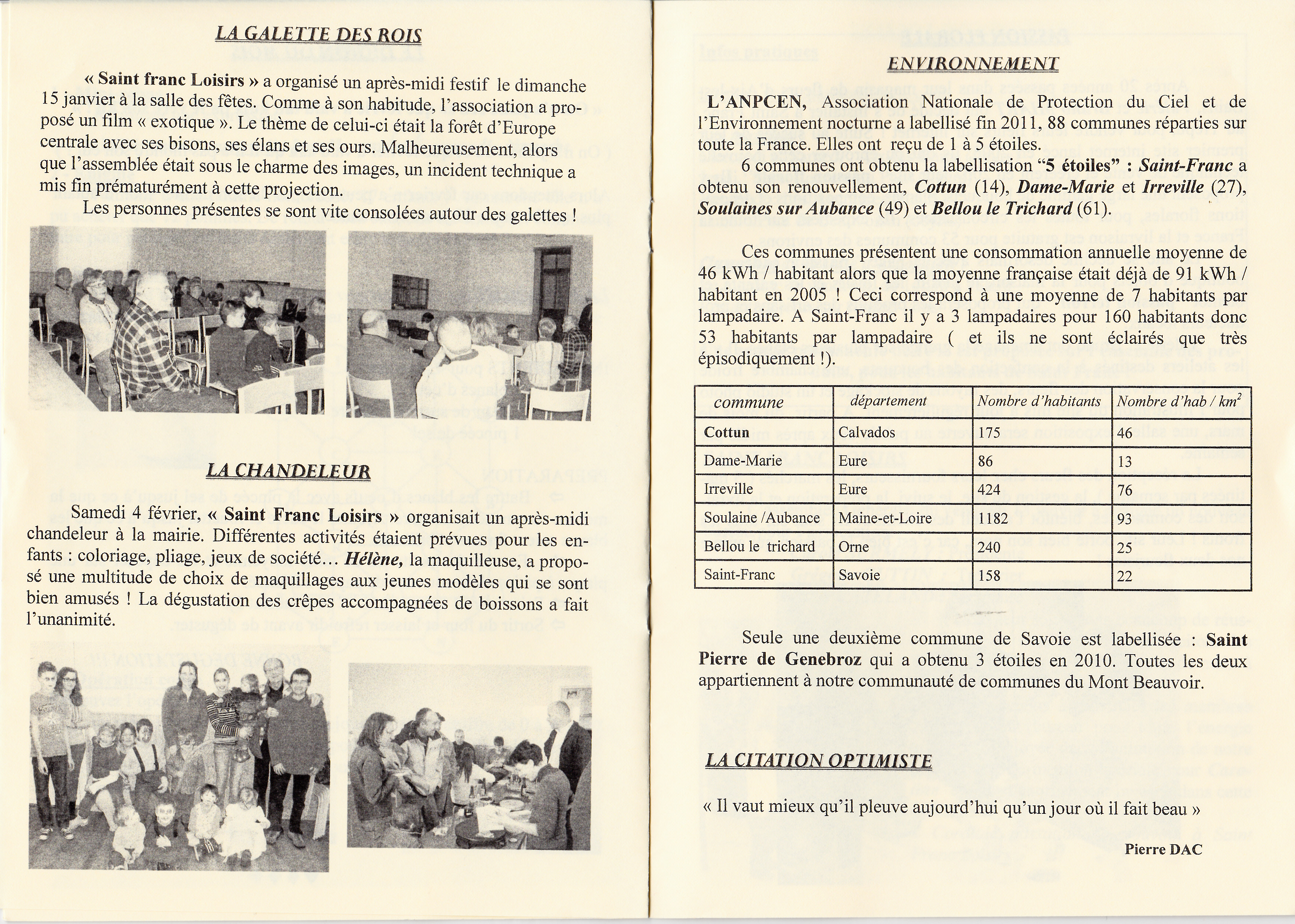 LPS n° 11 Pages 10 & 11