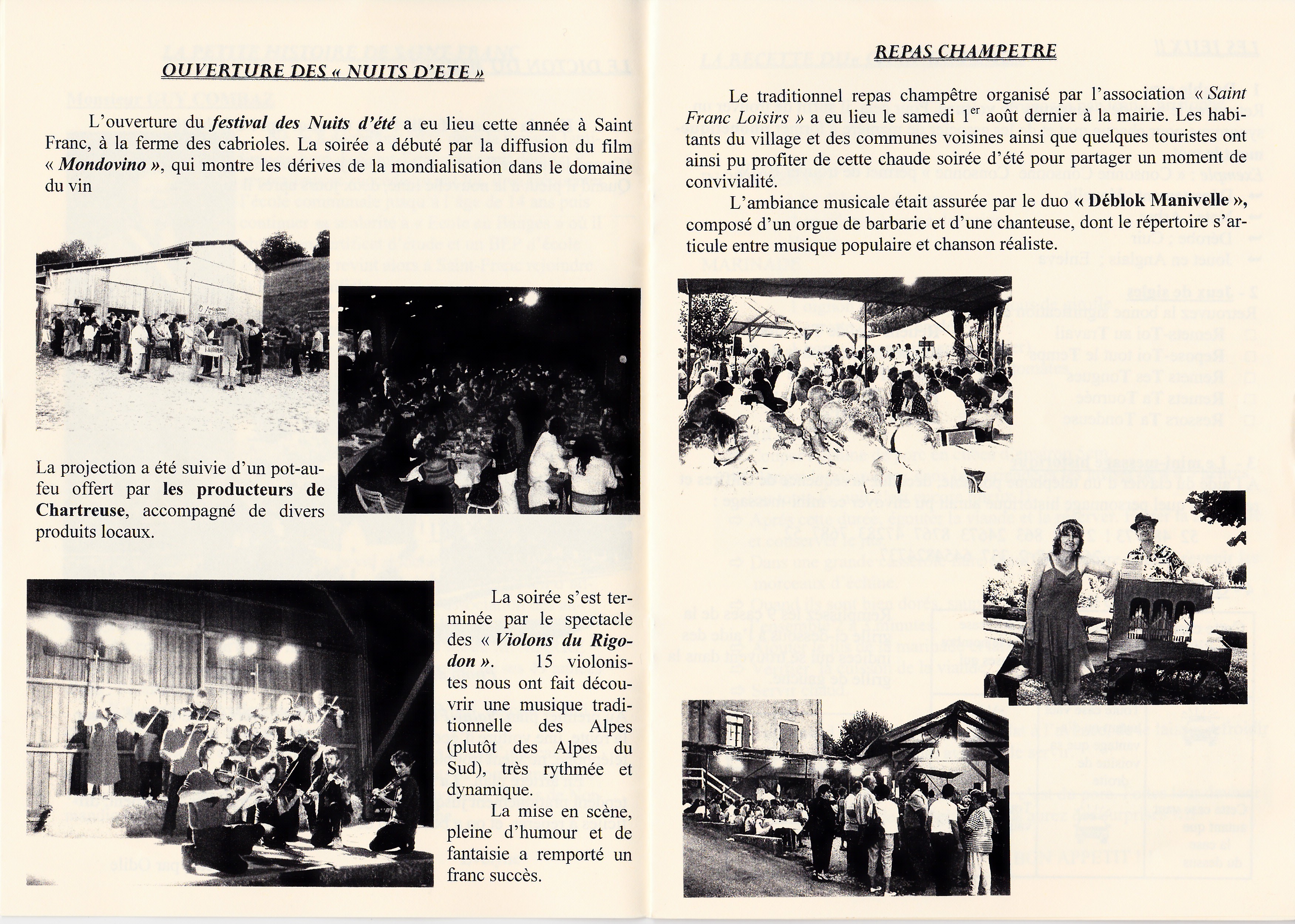 LPS n° 4 Pages 6 & 7
