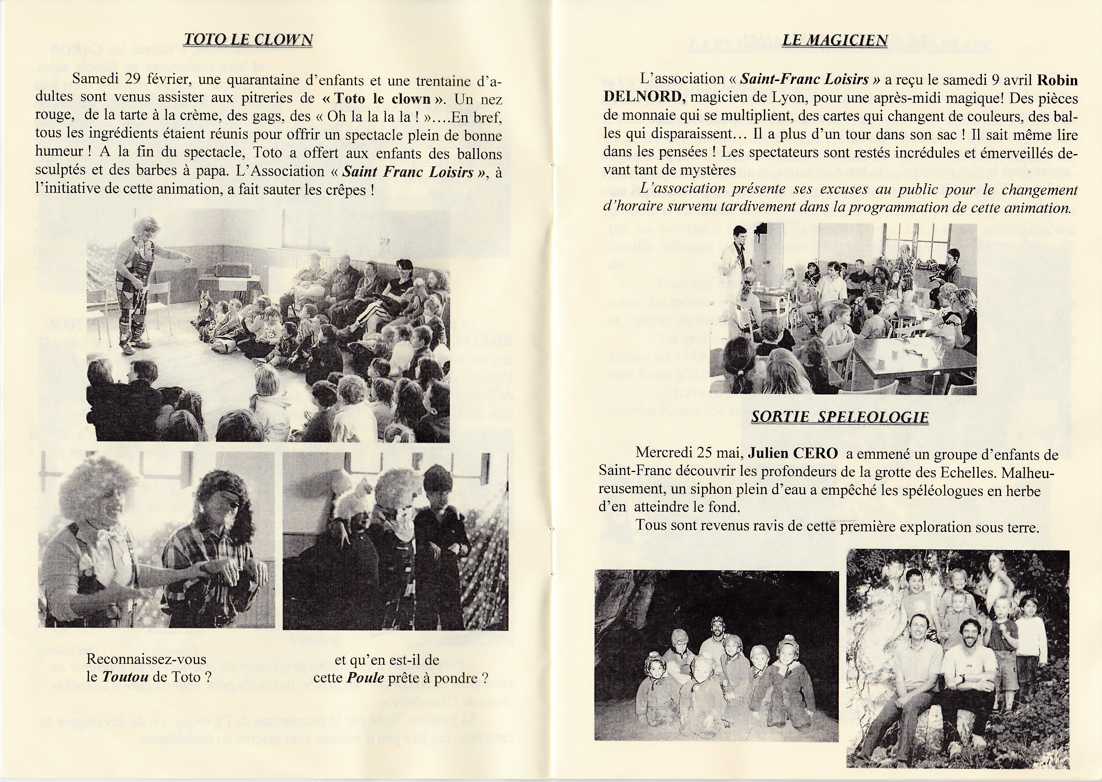 LPS n° 9 Pages 4 & 5