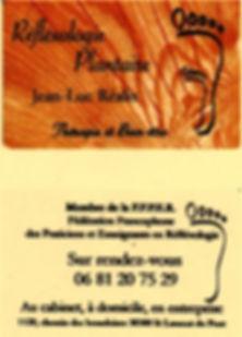 Réflexologie plantaire Jean-Luc Réalis Saint Laurent Du Pont