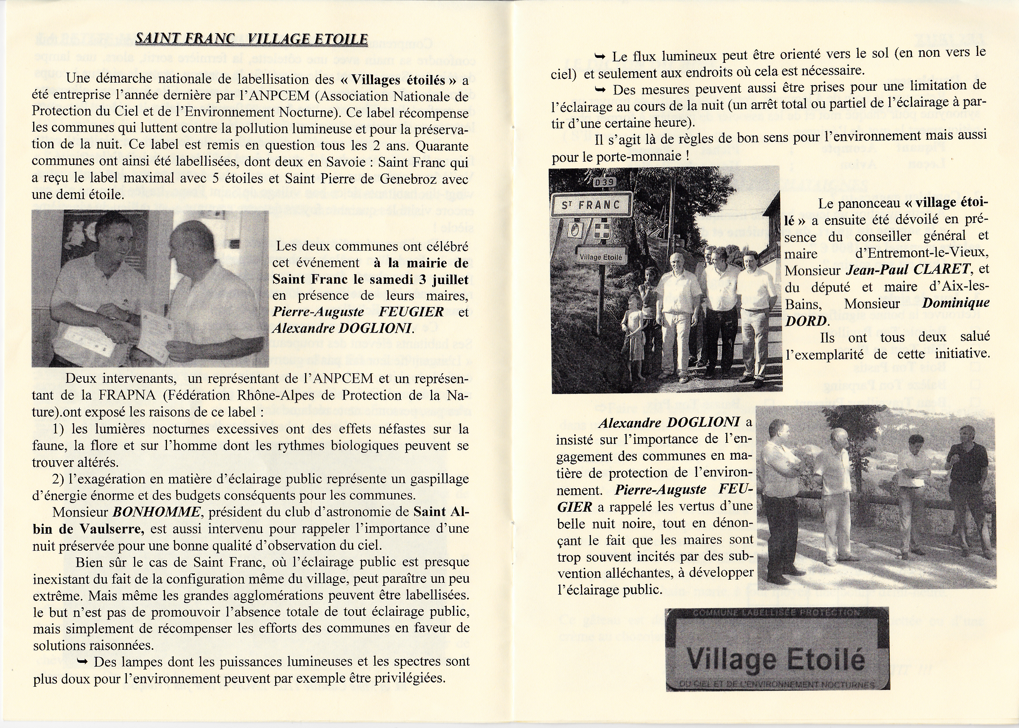 LPS n° 7 - Pages 6 & 7