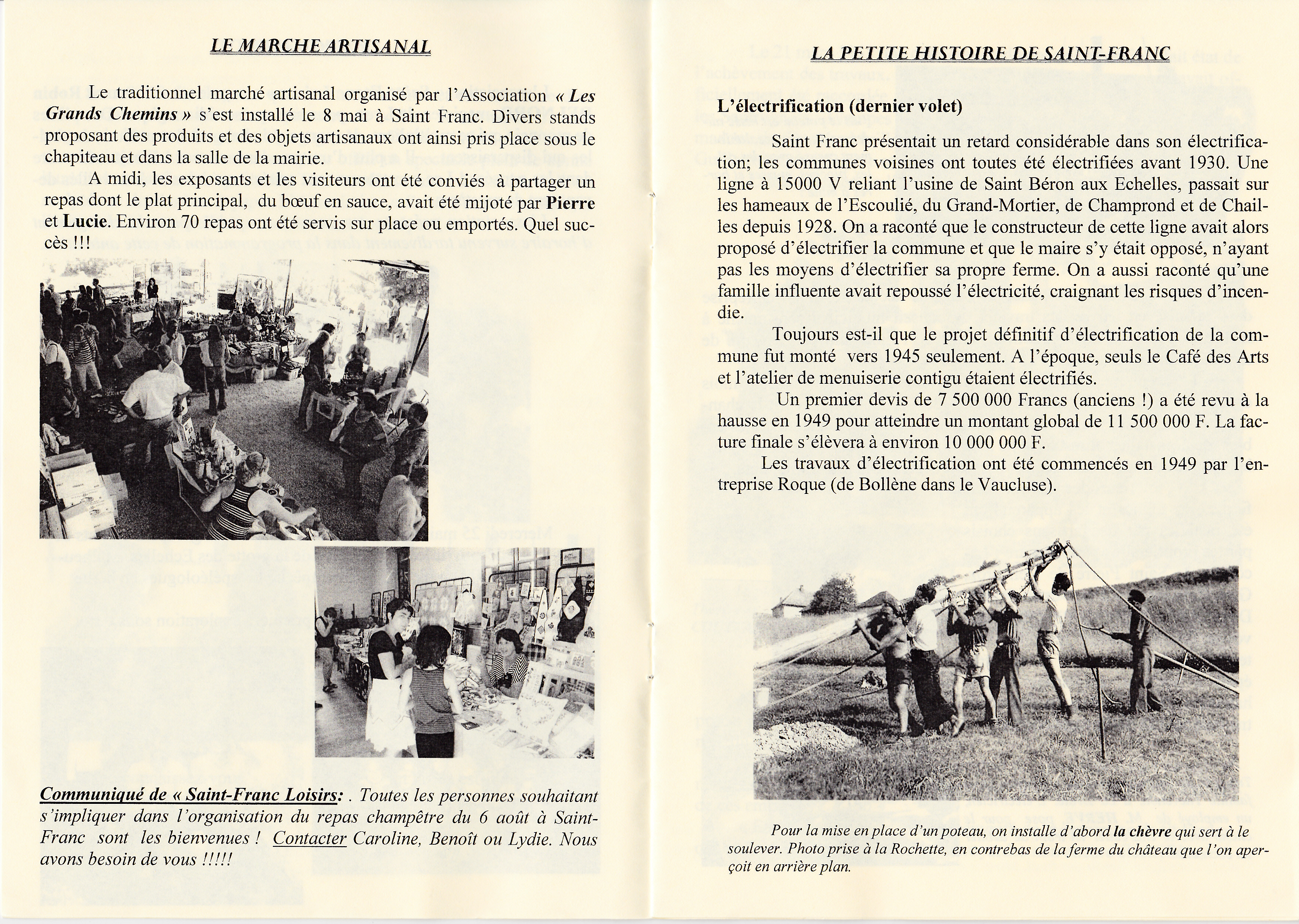 LPS n° 9 Pages 6 & 7