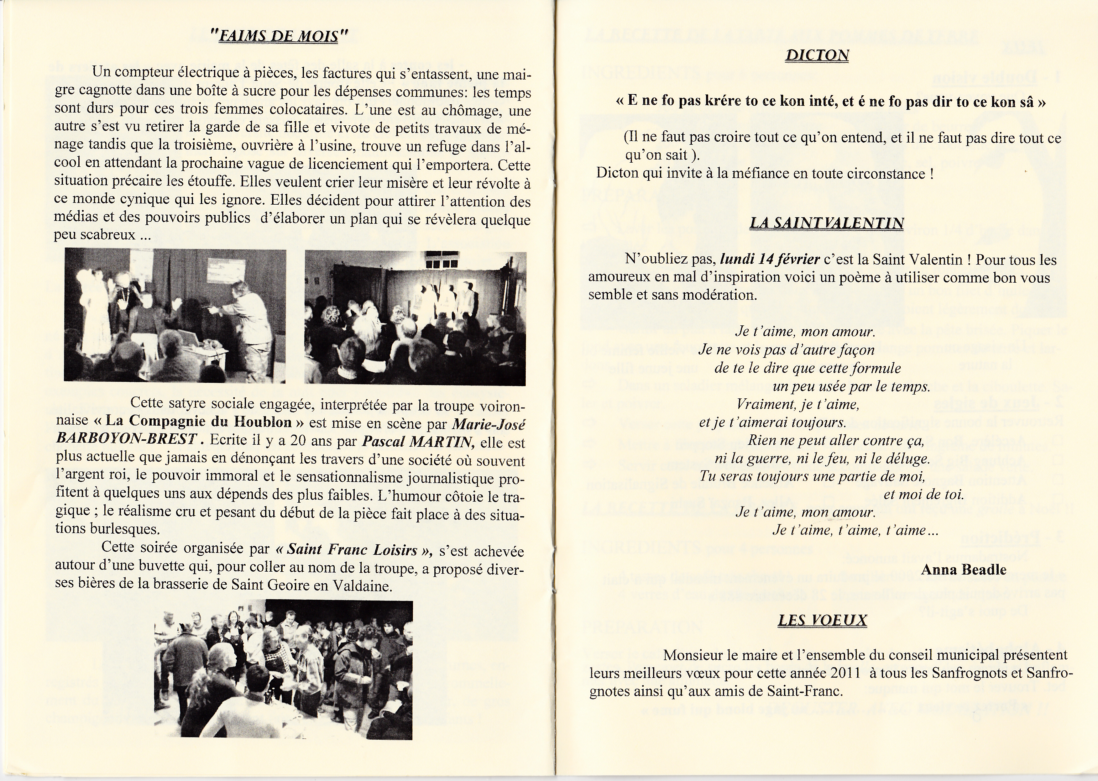 LPS n° 8 Pages 10 & 11