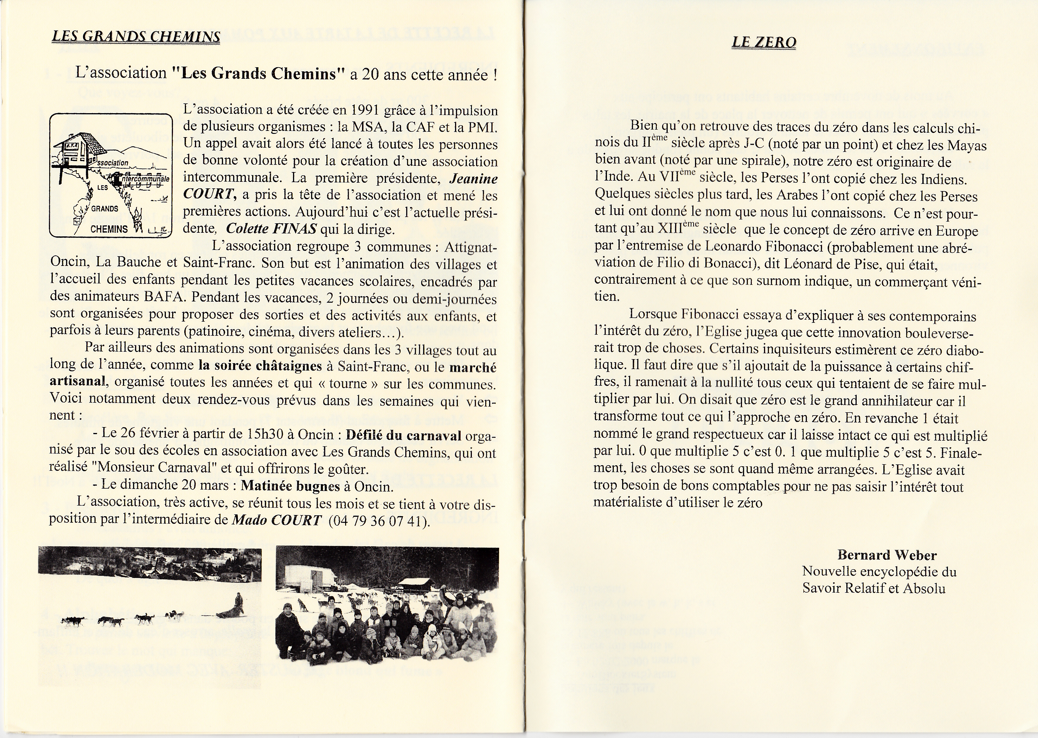 LPS n° 8 Pages 14 & 15