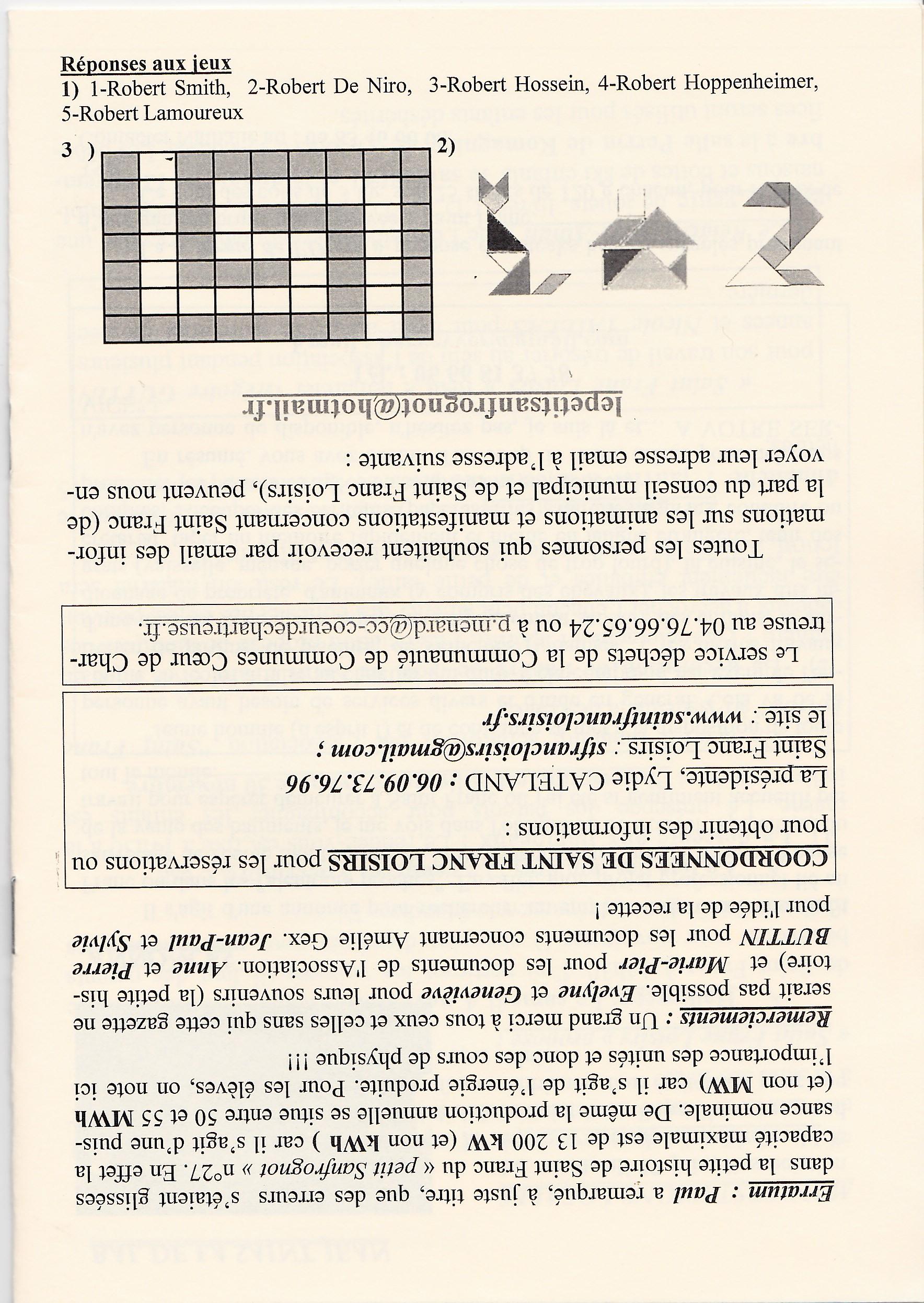 LPS n° 28 Pages 16bis