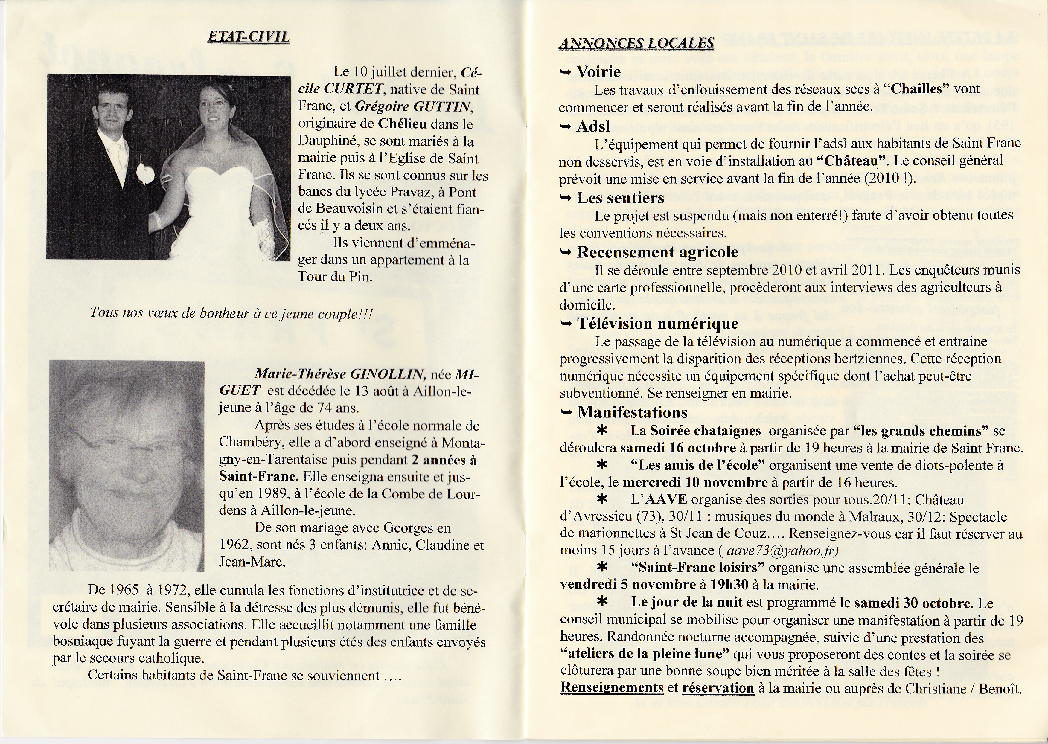 LPS n° 7 - Pages 2 & 3