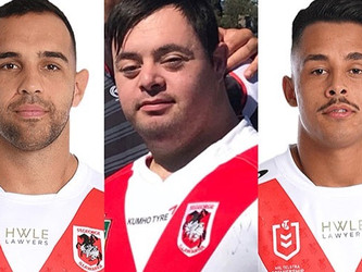 ST.GEORGE ILLAWARRA DRAGONS SENDS STRENGTH AND SUPPORT TO ONE OF OUR HEROES (MJ)