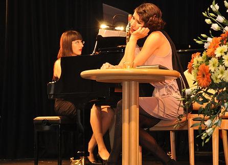 Chanson-Sängerin Raphaela Stürmer, Karlsruhe